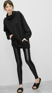 Aritzia Wilfred Free Daria Leather Pants
